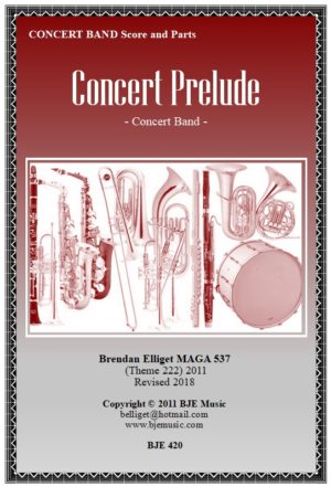 Concert Prelude – Concert Band