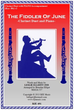 The Fiddler of June – Clarinet Duet and Piano