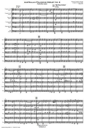 Australian Folksong Medley No. 6 – Flexible Brass Quintet