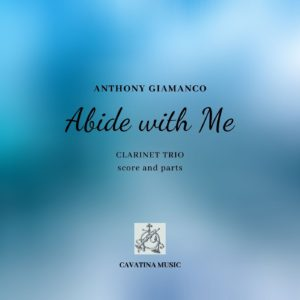 ABIDE WITH ME – Clarinet Trio