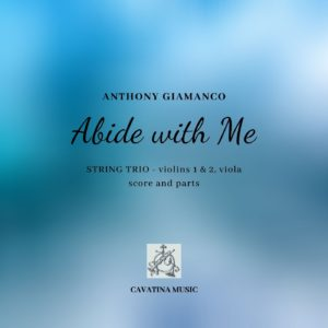ABIDE WITH ME – string trio