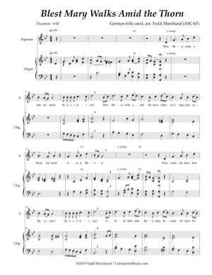 Three Solos for Advent, Christmas, Epiphany — soprano, organ