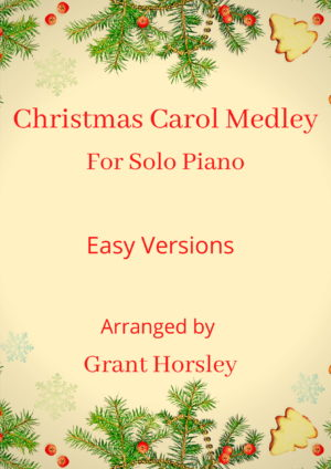 """Christmas Carol Medley""-Piano solo-Early Intermediate"