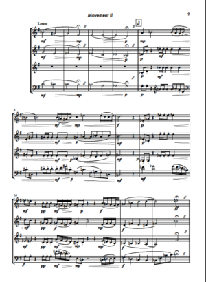 Horns Up! – Jazz Suite for Horn Quartet in 3 Movements – by Markus Plattner