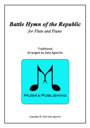 Battle Hymn of the Republic – Jazz Arrangement for Flute and Piano