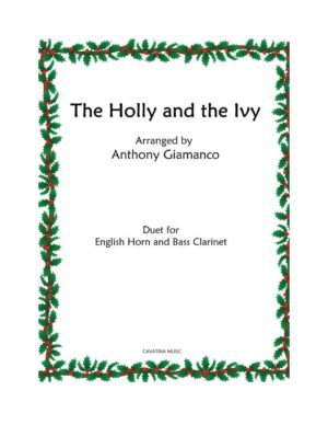Holly and the Ivy – English Horn/Oboe & Bass Clarinet duet