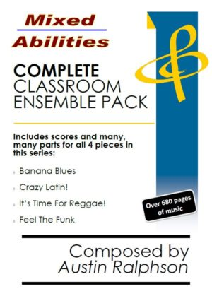 COMPLETE Mixed Abilities Classroom Ensemble Pack – mega value bundle