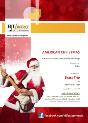 American Christmas – Mash up Rondo of best Christmas Songs – Brass Trio
