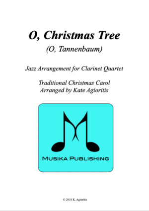 O Christmas Tree – Jazz Carol for Clarinet Quartet