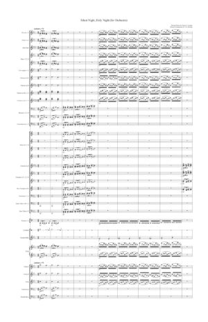 Silent Night, Holy Night (for Full Orchestra)
