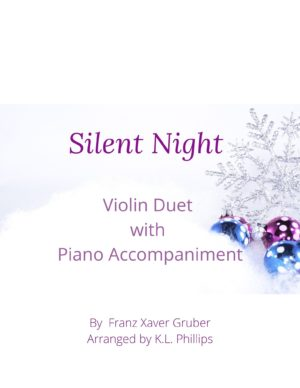 Silent Night – Violin Duet with Piano Accompaniment