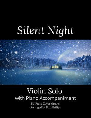 Silent Night – Violin Solo with Piano Accompaniment
