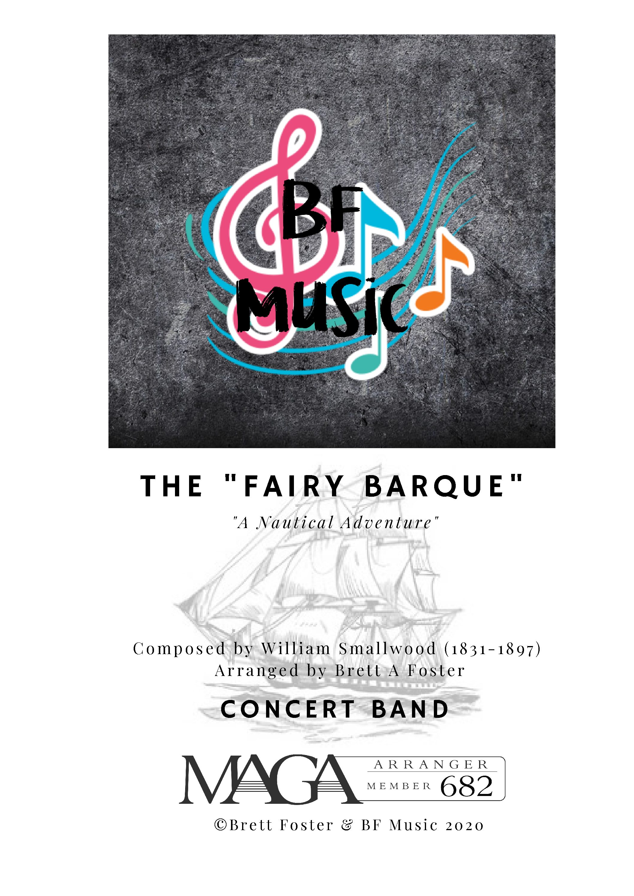 The Fairy Barque for Concert Band by William Smallwood